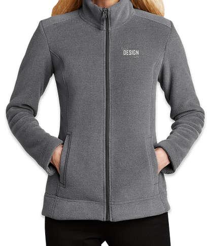 Port Authority Women's Ultra Warm Brushed Fleece Jacket  - Gusty Grey / Sterling Grey