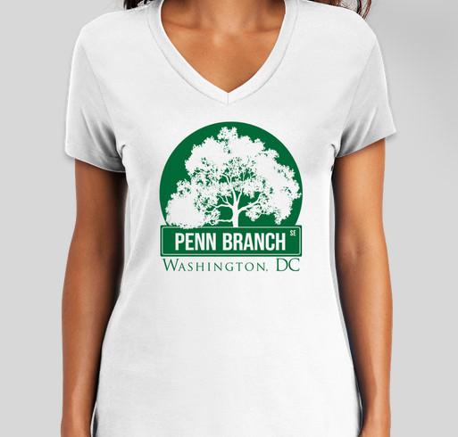Penn Branch Community Association DC (PBCA) Fundraiser - unisex shirt design - front