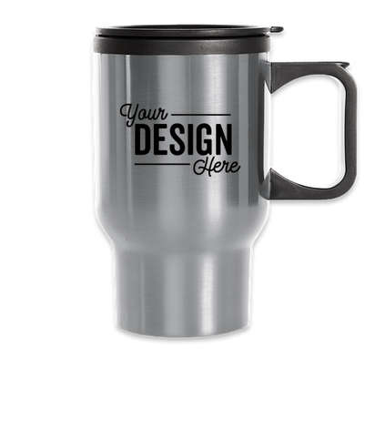 16 oz. Laguna Travel Mug - Stainless Steel