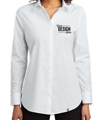 OGIO Women's Commuter Dress Shirt - White