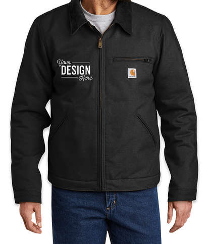 Carhartt Tall Duck Detroit Jacket  - Black