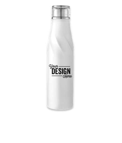 22 oz. Hugo Auto-Seal Copper Vacuum Insulated Water Bottle - White