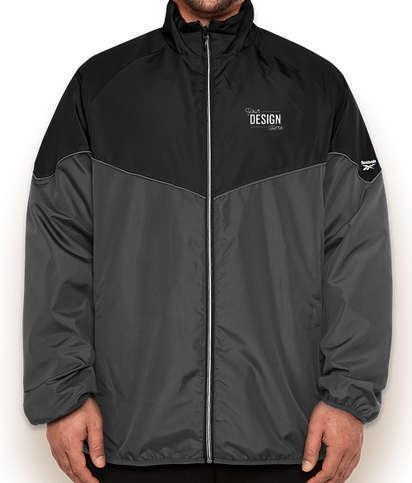 Reebok Storm Full Zip Jacket - Black / Charcoal