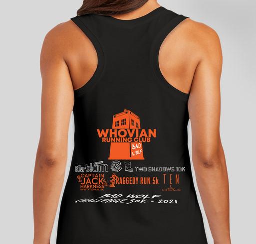 Timey Wimey 2021 Fundraiser - unisex shirt design - back