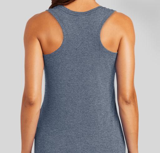 USS INDIANA FRG TANK TOP FUNDRAISER Fundraiser - unisex shirt design - back