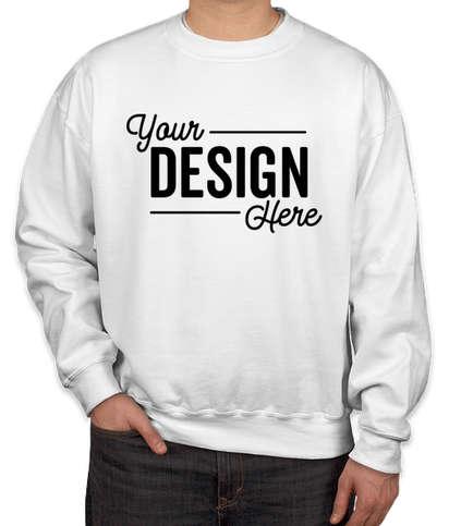 Gildan DryBlend 50/50 Crewneck Sweatshirt - White