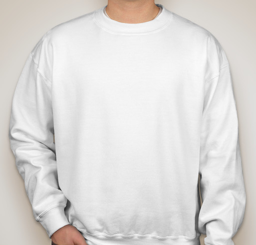 Gildan Dryblend® 50/50 Crewneck Sweatshirt - White