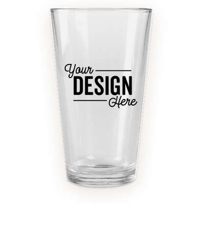 Full Color 16 oz. Pint Glass - Clear