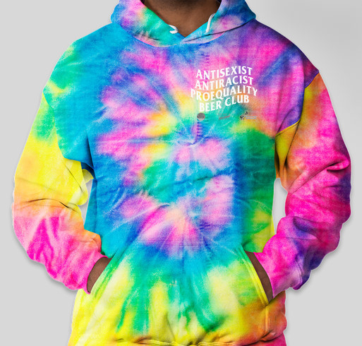 Dyenomite Tie-Dye Pullover Hoodie