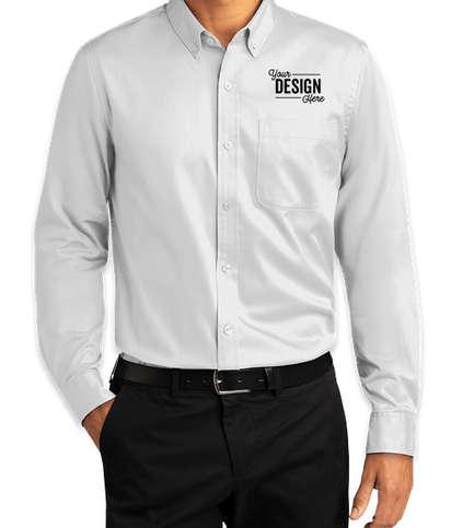 Port Authority SuperPro React Dress Shirt - White