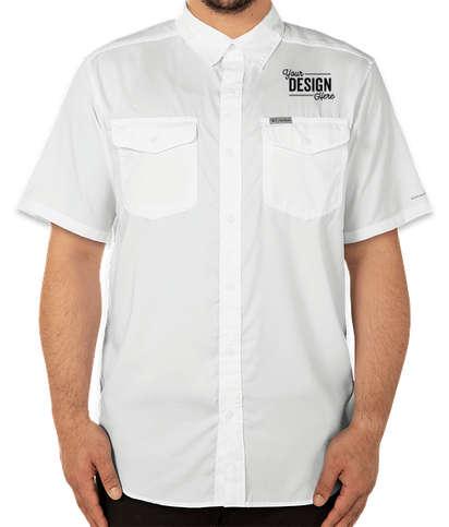 Columbia Utilizer Performance Short Sleeve Shirt - White