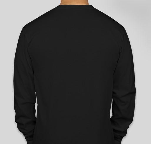 Be a Warrior Fundraiser - unisex shirt design - back