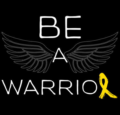 Be a Warrior shirt design - zoomed