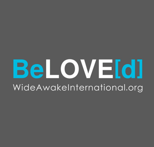 Wide Awake International: BeLOVE[d] shirt design - zoomed