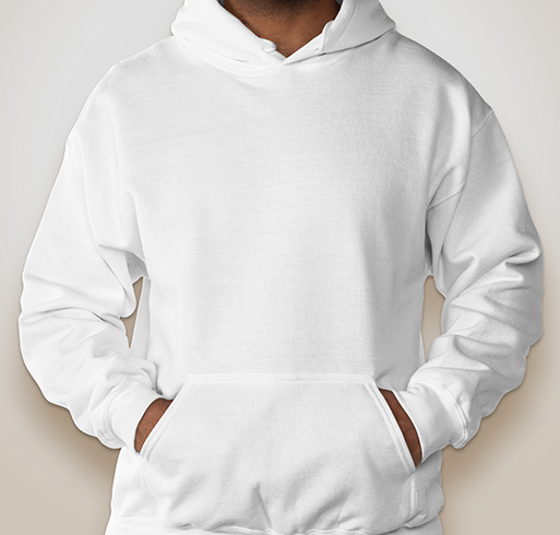 Gildan Dryblend® 50/50 Hooded Sweatshirt - White