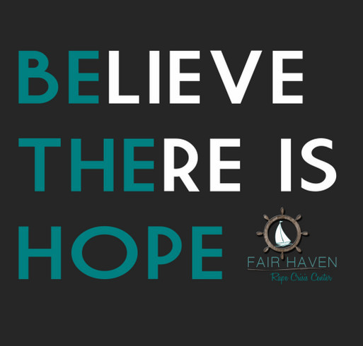 Believe There Is Hope-- BE THE HOPE! shirt design - zoomed