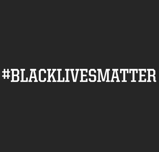 BLM for BLOC Milwaukee Fundraiser shirt design - zoomed