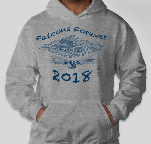Class of 2018 Apparel Fundraiser - unisex shirt design - front