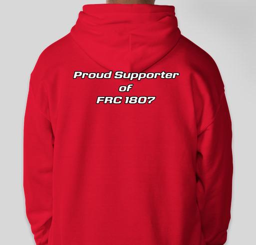 Supporter Merchandise Fundraiser Fundraiser - unisex shirt design - back
