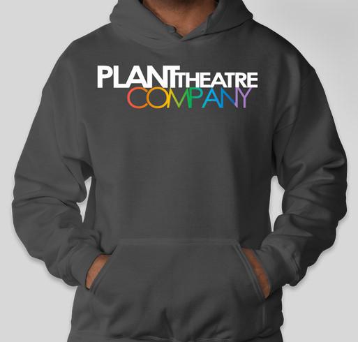PLANT THEATRE COMPANY T-SHIRT SALE 2019-2020 Fundraiser - unisex shirt design - front