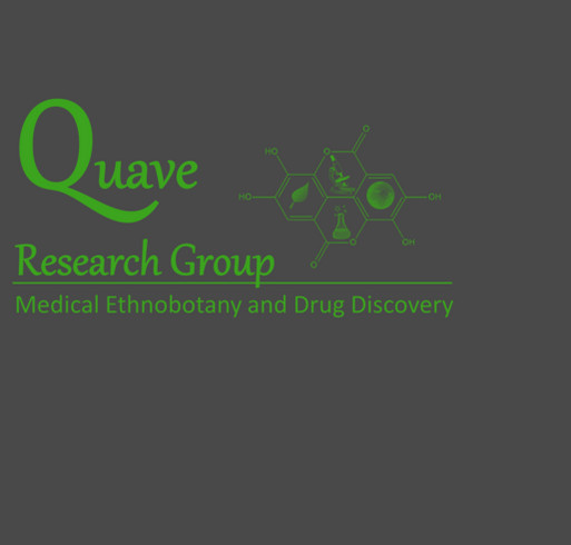 Quave Lab Student Research Fundraiser shirt design - zoomed