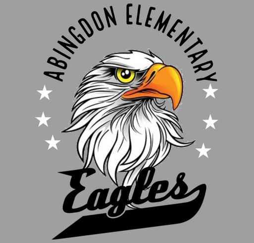 Abingdon Elementary School shirt design - zoomed