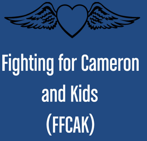 Support Fighting for Cameron and Kids - Raising Awareness for Victimized Children shirt design - zoomed