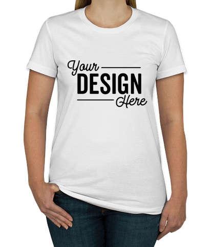 American Apparel Women's Slim Fit Jersey T-shirt - White