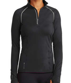 OGIO Endurance Women's Nexus Quarter Zip Performance Shirt