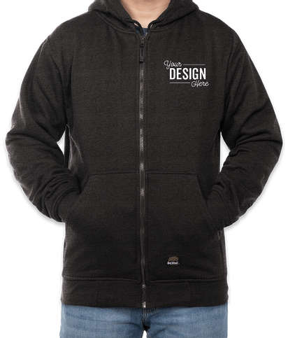 Berne Heritage Thermal Lined Sweatshirt - Charcoal