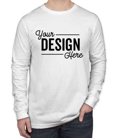 Bella + Canvas Long Sleeve Jersey T-shirt - White