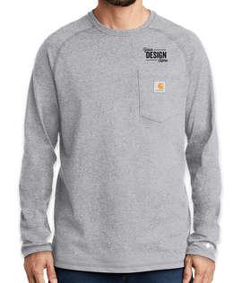 Carhartt Force Cotton Long Sleeve Pocket T-shirt