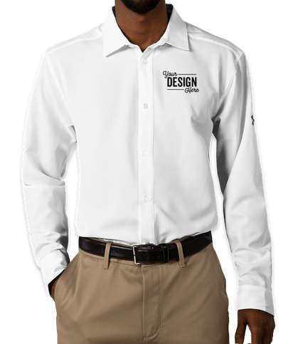 Under Armour Performance Tech Dress Shirt - White