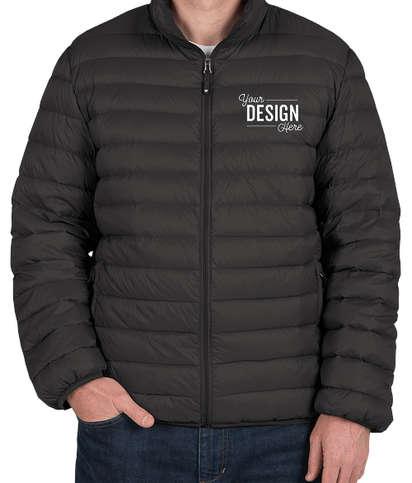 Weatherproof Packable Down Jacket - Black