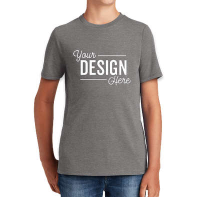 District Youth Tri-Blend T-shirt - Grey Frost