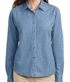 Port & Company Women's Denim Shirt