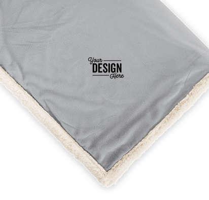 Field & Co. Sherpa Blanket - Grey