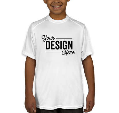 Badger Youth B-Dry Performance Shirt - White