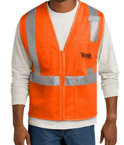 CornerStone Class 2 Mesh Safety Vest - Safety Orange