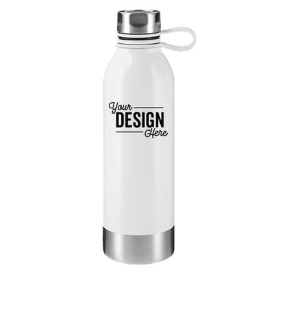 25 oz. Perth Stainless Steel Water Bottle - White