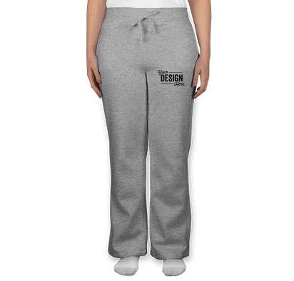 Canada - Gildan Women's Open Bottom Sweatpants - Sport Grey