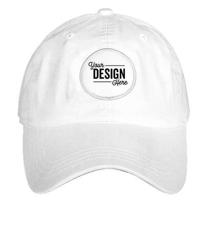 Ahead Circle Patch Baseball Hat - True White