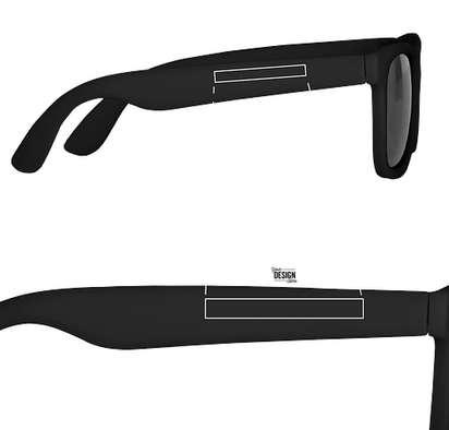 Youth Matte Sunglasses - Black