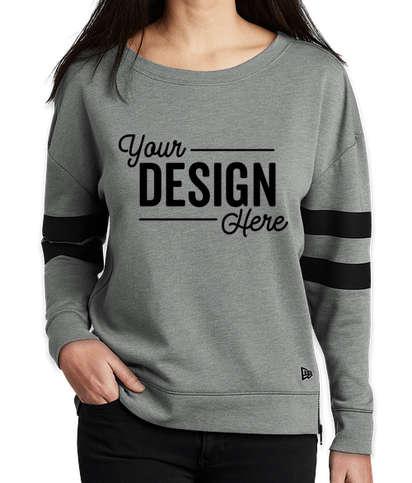 New Era Women's Varsity Tri-Blend Crewneck Sweatshirt - Shadow Grey Heather