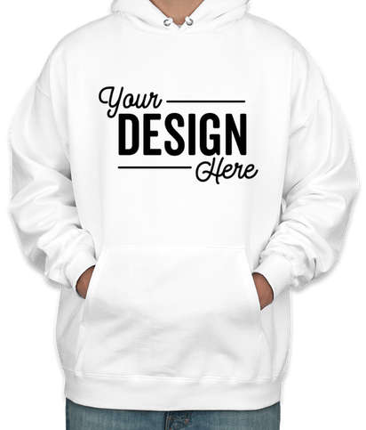 Hanes Ultimate Heavyweight Pullover Hoodie - White