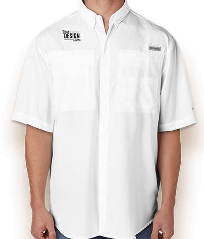 Columbia Tamiami Short Sleeve Shirt - White