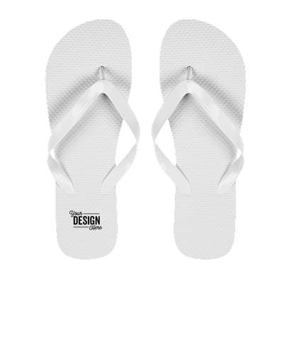 Copa Value Flip Flops - White