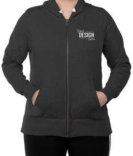 District Women's Re-Fleece Zip Hoodie