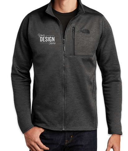 The North Face Skyline Full Zip Fleece Jacket - TNF Dark Grey Heather