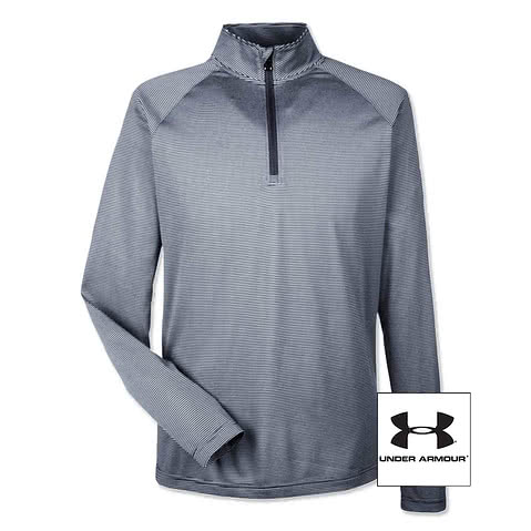Under Armour Tech Stripe Quarter Zip Pullover